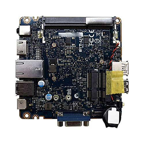RKRLJX Placa Base para Juegos Apta para fit for Intel Integrated N2840 12 * 12CM Placa Base para PC DDR3 Ram Memory Placa Base para computadora Industrial Contro