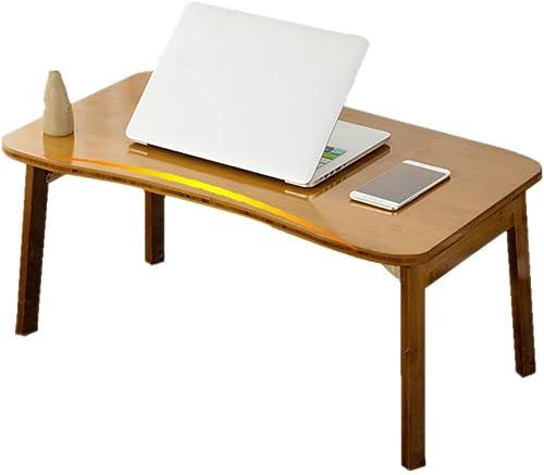 TH Multifunktions-Faltbarer Laptop Tisch Notebook Tisch Laptop Portable Bett Schreibtisch (Größe   80  50  34cm)