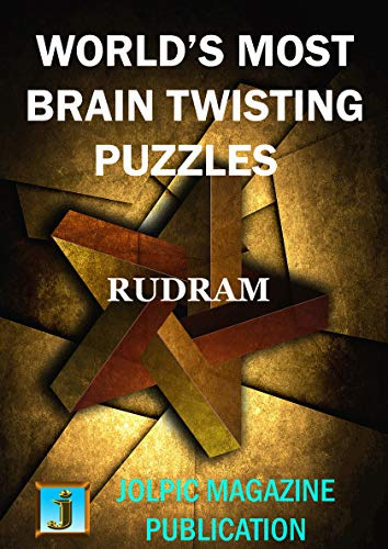 WORLD'S MOST BRAIN TWISTING PUZZLES: SOLUTION OF EINSTEIN'S ZEBRA PUZZLE AT THE END OF THE BOOK (English Edition)