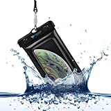 Power Theory Funda Impermeable Móvil - Bolsa Estanca Flotante (Certificada IPX8) - 16 cm - iPhone...