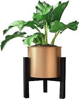 Metal Plant Stands with Flower Pot Indoor/Outdoor Iron Planters Holder Corner Display Rack Modern Minimalist Fit 6-8 Inch ...