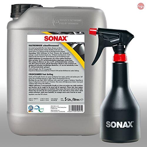 SONAX KaltReiniger Reiniger 5L 05425000 + GRATIS Sprühboy Sprühflasche 04997000