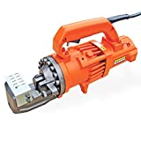 BN Products Portable Rebar Cutter - Electric/Hydraulic, Cuts 3/4in. Rebar, Model Number DC-20WH