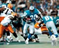 Barry Sanders Signed Autographed Lions Action 8x10 Photo vs Packers