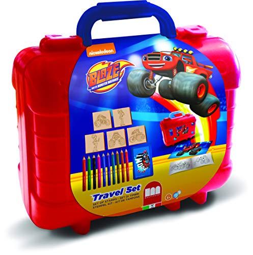 Multiprint Blaze - Juegos de Sellos para niños (Multicolor, Caucho, Madera, 3 año(s), Italia, 230 mm, 105 mm)