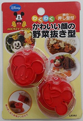 スケーター野菜抜き型ミッキーマウスディズニー日本製LKVN1