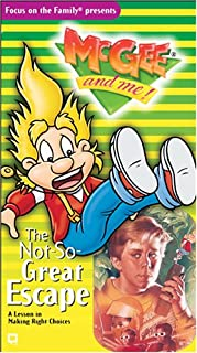 The Not-So-Great Escape (McGee and Me! #03 Video) [VHS]