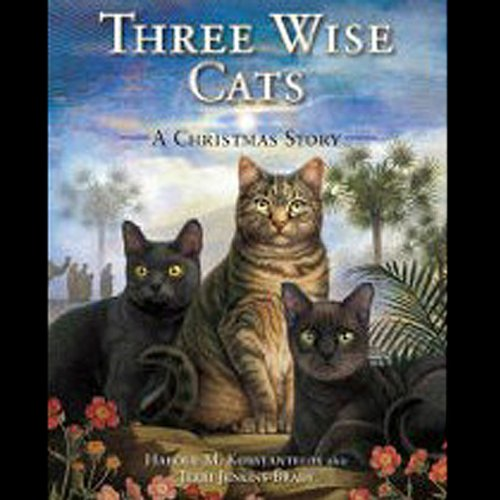 Three Wise Cats audiobook cover art