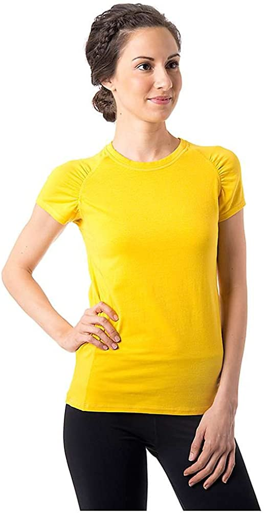 tasc performance womens zest short sleeve fitness running tee shirt