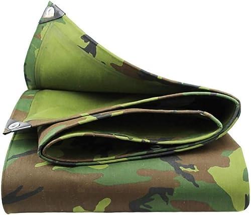 L-BHQF épaissir Un Tissu Anti-Pluie Camouflage bache de Prougeection Solaire Tissu Oxford Toile Sheet Covers (Taille   6x7M)