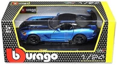 Bburago New 1:24 W/B Collection - Blue Dodge Viper SRT 10 ACR Diecast Model Car