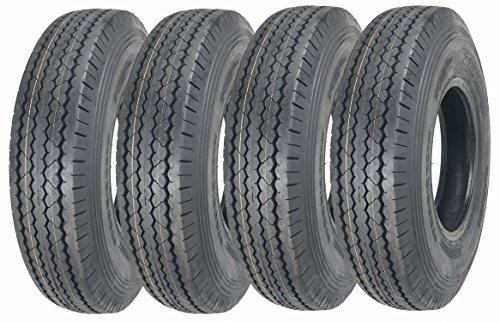 4 New Zeemax Heavy Duty Trailer Tire ST205/90D15 / 7.00-15 Bias 8 PR - 11066