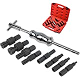 <span class='highlight'><span class='highlight'>GYFHMY</span></span> 9 Pcs Blind Pilot Inner Bearing Pullers Slide Hammer Puller Set - Bearings Removal Tool - Wheel Separator Kit for Bike Electric Bicycle Repairer