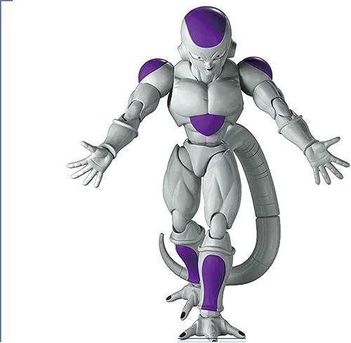 WJP Jouet Statue Dragon Ball Jouet Statue Saiyan Le Roi Maléfique Fliesa Anime Périphérie 18CM