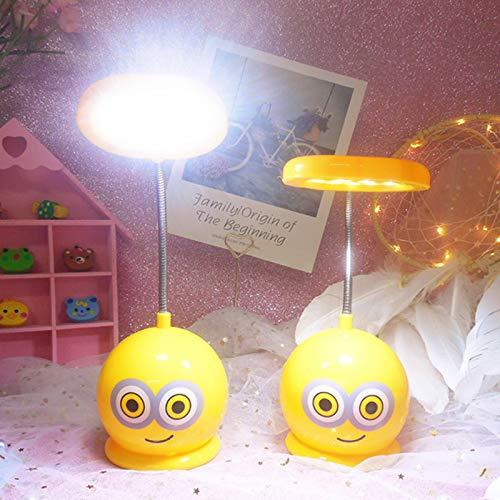 Bao Mail Bande Dessinée Rechargeable Animal Led Petite Table Lampe Grenouille Oursons Apprendre Nuit Lumières Chambre Dortoir Pliage Des Yeux