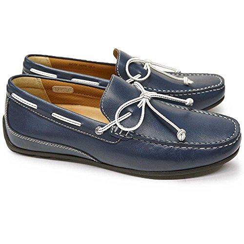 [リーガル] REGAL 靴 ドライビングモカシン 55PR メンズ カジュアルシューズ ネイビー 26.5cm