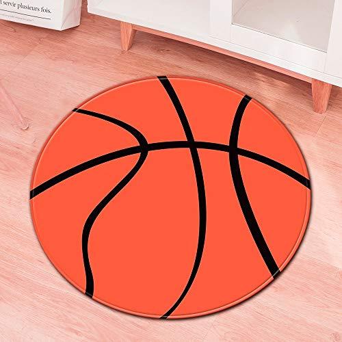 Lemoning Bedroom Organizers and Storage, Family Creative Football Basketball Bedroom Living Room Carpet Floor Mat