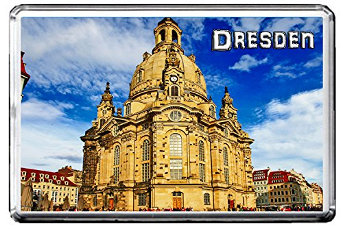 0367 DRESDEN KÜHLSCHRANKMAGNET THE CITY OF GERMANY REFRIGERATOR MAGNET GERMANY LANDMARKS, GERMANY ATTRACTIONS
