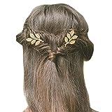 Gracewedding - Horquillas para el pelo con cristales brillantes para novia, 2 unidades