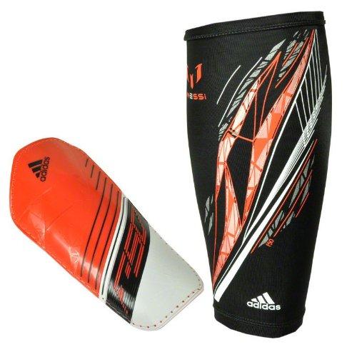 adidas Schienbeinschoner F50 Pro Lite Messi, dark orange/white/black, S, Z19183