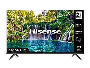 HISENSE 32A5600FTUK 32-inch Full HD 1080P Smart TV with dbx-tv Sound, WiFi, USB Playback, Netflix, Freeview play (2020 series), Black