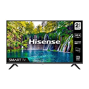HISENSE 40A5600FTUK Full HD 1080P Smart TV with dbx-tv Sound, WiFi, USB Playback, Netflix Freeview play (2020 series)