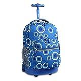 Best School Backpacks - J World New York Sunrise Rolling Backpack, Blue Review