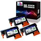 Jalada 1 Set Remanufactured HP72 Printheads 72 Printhead C9380A C9383A C9384A with New Updated Chips for HP Designjet T610 T620 T770 T790 T1100 T1120 1200 T1300 T2300
