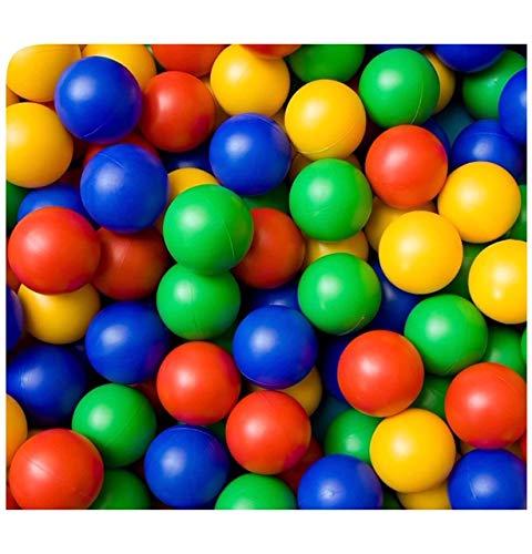 400 bolas de plástico para niños para hoyos de bolas, juguetes multicolor para jugar a la piscina, pozo de bola suave castillo