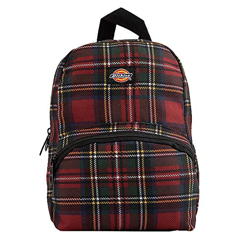 Dickies Mini Backpack (One_Size, Plaid Red/Green)