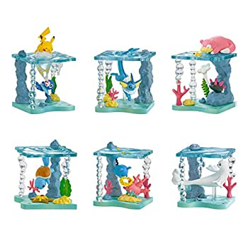 Pokemon World Sparkling Shimmering Glittering Sea Creatures Collection  Single Blind Box