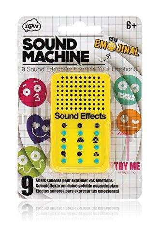 NPW NP37012 Emoticon Toneffekt Spielzeug Maschine-Gelb von Get Emojinal