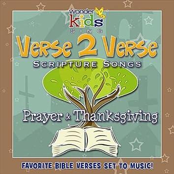 Verse 2 Verse: Payer & Thanksgiving