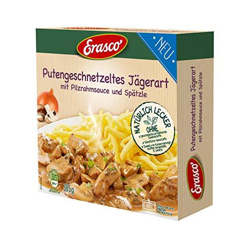 Erasco Putengeschnetzeltes Jägerart Menüschale, 1 stück, 491
