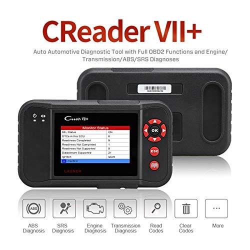 Launch Creader VII+/VIII Système de diagnostic automobile avec lecture des codes