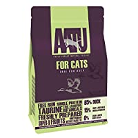 85% FREE-RUN DUCK- Our Duck 85/15 cat food combines 85% fresh duck with 15% 'super-8' fruit and veg for a delicious meal your kitty will enjoy MADE USING THE 'SUPER-8' FOR VITAL NUTRIENTS- Our AATU dry cat food includes a bespoke combination of 8 Veg...