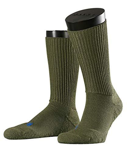 FALKE Unisex Socken Walkie Ergo U SO -16480, 1 Paar, Grün (Herb 7754), 44-45