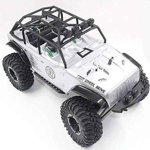 Llpeng 1/10 2,4 GHz 550 Brushed RC Car Off-Road LKW Rock Crawler RTR Automatic Vehicle Spielzeug Auto vorne und hinten Doppel Drehen Auto for Kind-Geschenk-Climbing