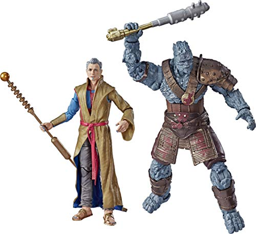 Marvel Legends Series Thor: Ragnarok 6'-Scale Movie-Inspired Grandmaster & Korg Collectible Action Figure 2 Pack