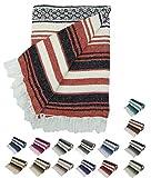 Kakaos Traditional Yoga Blanket. (Terra COTA)