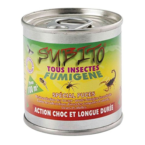 Subito 07253 Fumigène Insecticide Blanc