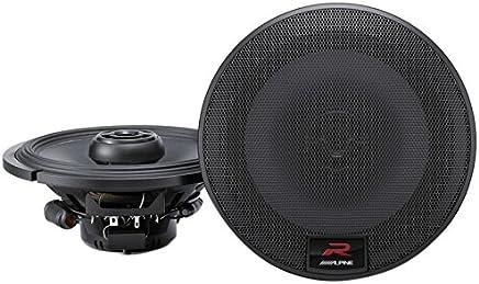 $114 Get Alpine R-Series 6.5 Inch 300 Watt Coaxial 2-Way Car Audio Speakers, Pair | R-S65