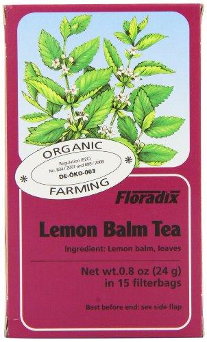 Floradix Zitronenmelissen Tee bio 15 FB (24 g), 6er Pack(6 x 0.1 g)