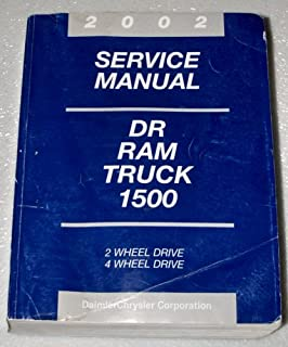2002 Dodge Ram Truck 1500 Service Manual (2WD, 4WD, Complete Volume)