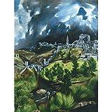EL Greco View of Toledo Spain Expressive Painting Art Print