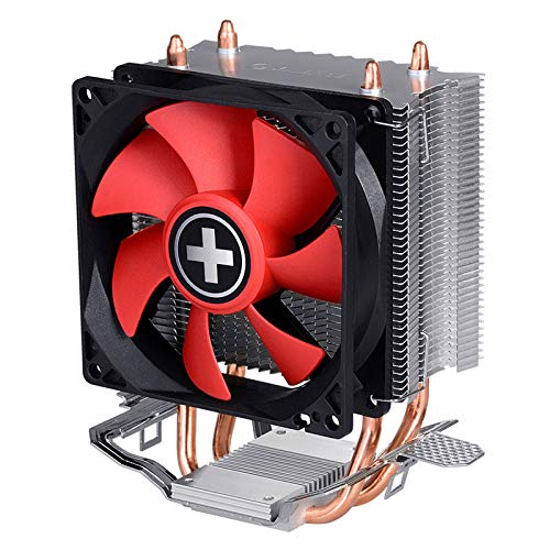 Xilence Performance C Serie | CPU Kühler | XC025 | Heatpipe | AMD | rot/schwarz