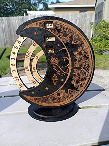 Superior Mandala OFFer Moon Perpetual Motion Calendar -