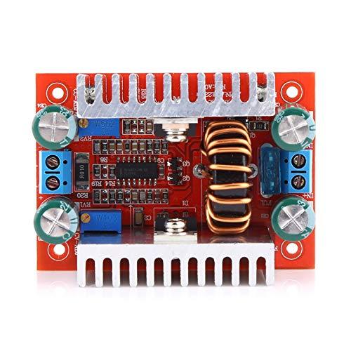 Modulo Convertitore Boost, Akozon Convertitore Step-up Digitale DC DC Boost Board Modulo Alimentazione 8,5-50V a 10-60V 15A Modulo di Alimentazione Caricabatterie a Corrente Costante