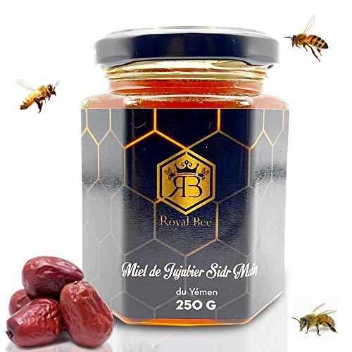 Miel de Sidr du Yémen Pur jujubier Brut Sidr Honey Royal 250