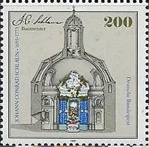 FGNDGEQN Colección de Sellos Alemania 1995 Arquitecto Shuran Cumpleaños 375 Bao Muster Church 1 Nuevo Sello Extranjero